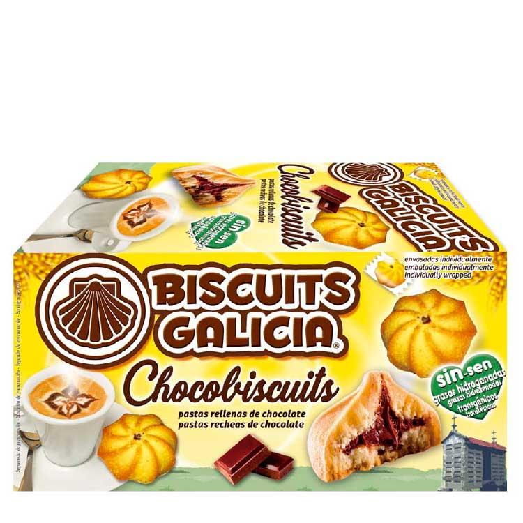 estuches de galletas envasadas individualmente biscuits galicia