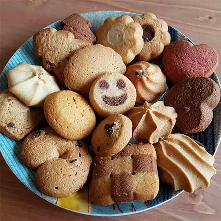 galleta envasada individualmente cortesía café hostelería cafetería merienda desayuno Biscuits Galicia