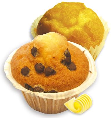 magdalenas muffin envasadas individualmente café merienda desayuno chocolate Biscuits Galicia