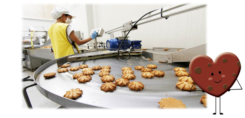 Proceso productivo Biscuits Galicia